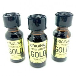 Large 25ml Amsterdam Gold x 3