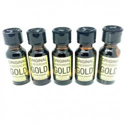 Large 25ml Amsterdam Gold x 5