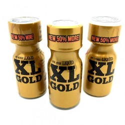 Large 15ml XL Gold x 3