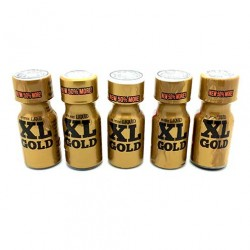 Large 15ml XL Gold x 5