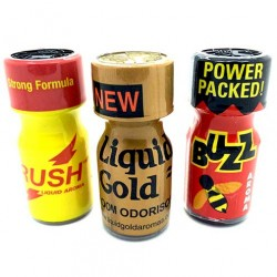 Assorted Poppers Pack