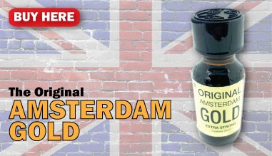 Buy Amsterdam Gold poppers online from UK here